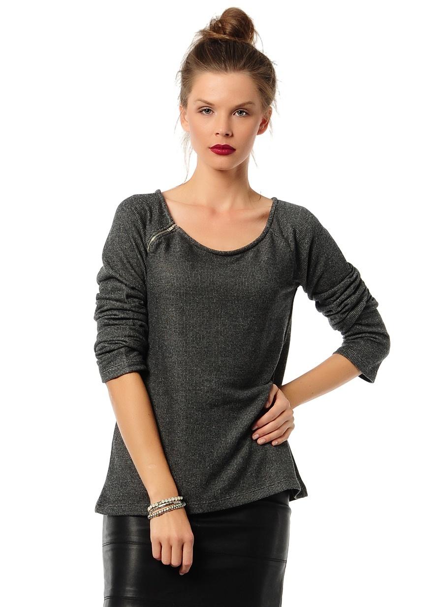 Kadın T-Box Sweatshirt